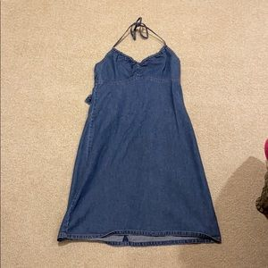 Vintage gap blue jean dress